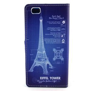 Emotive pouzdro na mobil Huawei P8 Lite - Eiffelova věž - 2