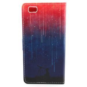 Emotive pouzdro na mobil Huawei P8 Lite - meteory - 2