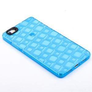Square gelový obal na Huawei P8 Lite - modrý - 2
