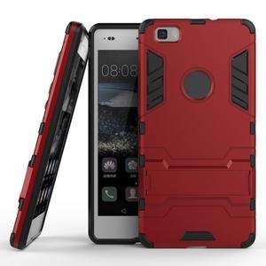 Odolný ochranný kryt na Huawei P8 Lite - červený - 2