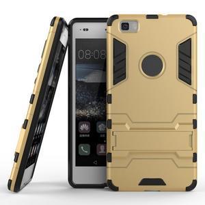 Odolný ochranný kryt na Huawei P8 Lite - zlatý - 2