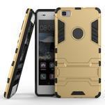 Odolný ochranný kryt na Huawei P8 Lite - zlatý - 2/6