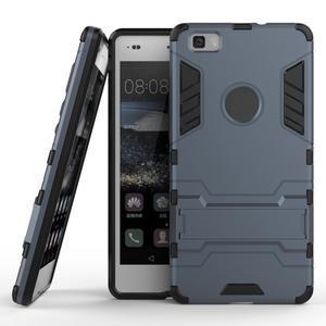 Odolný ochranný kryt na Huawei P8 Lite - šedomodrý - 2
