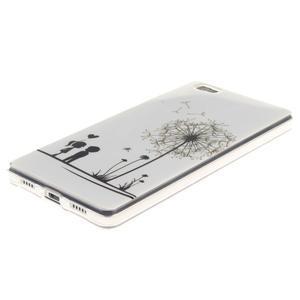 Flexi gelový obal na mobil Huawei P8 Lite - láska - 2