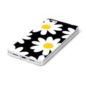 Softy gelový obal na mobil Huawei P8 Lite - sedmikrásky - 2