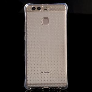 Transparentní gelový obal se zesílenými rohy na Huawei P9 Lite - 2