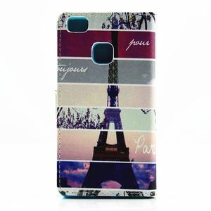 Knížkové pouzdro na mobil Huawei P9 Lite - Eiffelka - 2