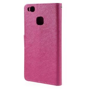 Easy peněženkové pouzdro na mobil Huawei P9 Lite - rose - 2