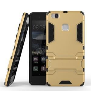 Odolný obal na mobil Huawei P9 Lite - zlatý - 2