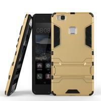 Odolný obal na mobil Huawei P9 Lite - zlatý - 2/3