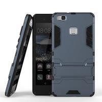 Odolný obal na mobil Huawei P9 Lite - šedomodrý - 2/3