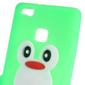 Silikonový obal na mobil Huawei P9 Lite - zelený - 2