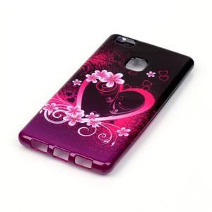 Emotive gelový obal na mobil Huawei P9 Lite - srdce - 2