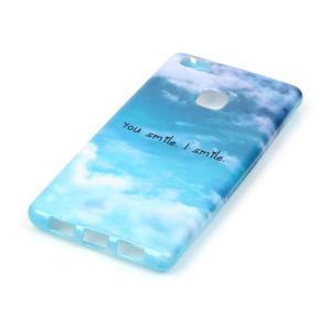 Emotive gelový obal na mobil Huawei P9 Lite - smile - 2