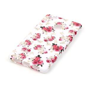 Emotive gelový obal na mobil Huawei P9 Lite - květiny - 2