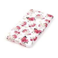 Emotive gelový obal na mobil Huawei P9 Lite - květiny - 2/4