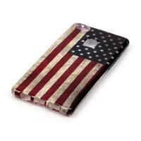 Emotive gelový obal na mobil Huawei P9 Lite - US vlajka - 2/4