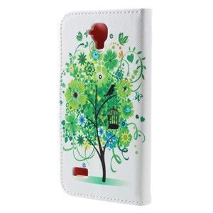 Emotive PU kožené pouzdro na Huawei Y5 - zelený strom - 2