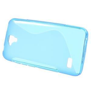 S-line gelový obal na mobil Huawei Y5 a Y560 - modrý - 2