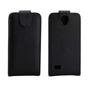 Flipové PU kožené pouzdro na Huawei Y5 a Y560 - černé - 2