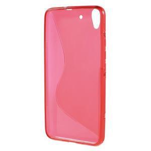 S-line gelový obal na mobil Huawei Y6 - červený - 2