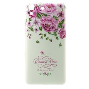 Softy gelový obal na mobil Huawei Y6 - květiny - 2