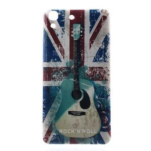 Softy gelový obal na mobil Huawei Y6 - UK vlajka - 2