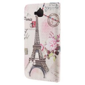 Emotive peněženkové pouzdro na mobil Huawei Y6 Pro - Eiffelova věž - 2
