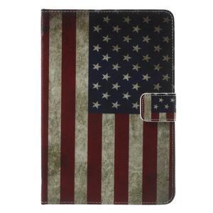 Stylové pouzdro na iPad mini 4 - US vlajka - 2