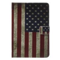 Stylové pouzdro na iPad mini 4 - US vlajka - 2/7