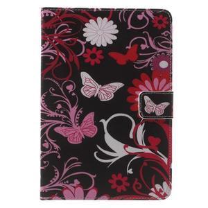 Stylové pouzdro na iPad mini 4 - kouzelní motýlci - 2