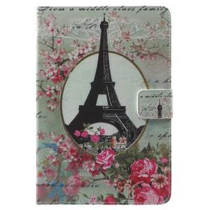 Stylové pouzdro na iPad mini 4 - Eiffelova věž - 2