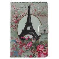 Stylové pouzdro na iPad mini 4 - Eiffelova věž - 2/7