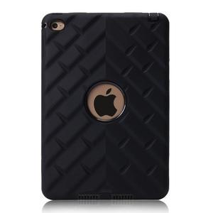 Vysoce odolný silikonový obal na tablet iPad mini 4 - černý - 2
