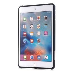 Outdoor dvoudílný gelový/plastový obal na iPad mini 4 - modrý - 2