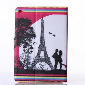 Knížkové pouzdro na tablet iPad mini 4 - Eiffelova věž - 2