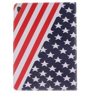 Knížkové pouzdro na tablet iPad Pro 9.7 - US vlajka - 2