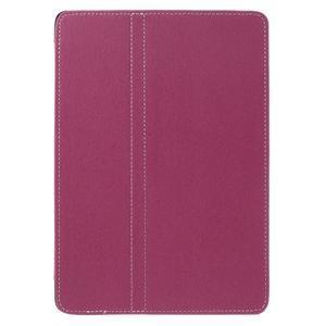 Clothy PU textilní pouzdro na iPad Pro 9.7 - rose - 2