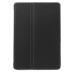 Clothy PU kožené pouzdro na iPad Pro 9.7 - černé - 2