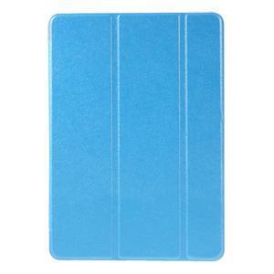 Trifold polohovatelné pouzdro na tablet iPad Pro 9.7 - modré - 2