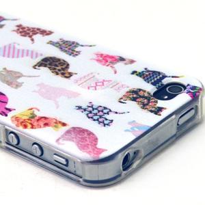 Emotive gelový obal na mobil iPhone 4 - kočičky - 2