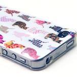 Emotive gelový obal na mobil iPhone 4 - kočičky - 2/3