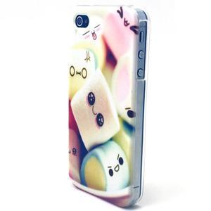 Emotive gelový obal na mobil iPhone 4 - kokina - 2