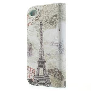 Emotive knížkové pouzdro na iPhone 4 - Eiffelova věž - 2