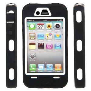 Armor vysoce odolný obal na iPhone 4 - černý - 2