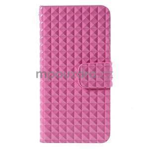 Cool style pouzdro na iPhone 6s a iPhone 6 - růžové - 2