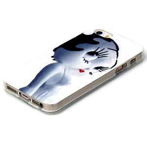 Gelový obal na mobil iPhone SE / 5s / 5 - kočička - 2