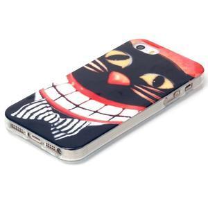 Gelový obal na mobil iPhone SE / 5s / 5 - kočka - 2