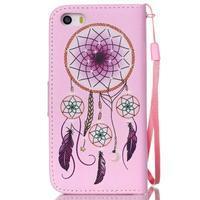 Peněženkové pouzdro na mobil iPhone SE / 5s / 5 - dream - 2/7