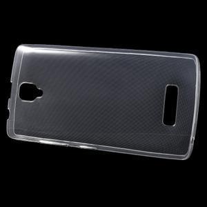 Ultratenký slim gelový obal na Lenovo A2010 - transparentní - 2